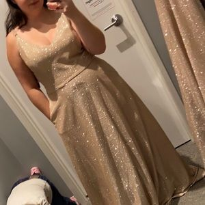 Size 18 David's Bridal Dress with Pockets
